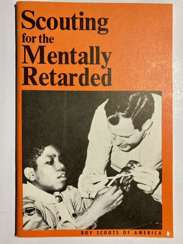 Scouting For the Mentally Retarded Boy Scouts Vintage Collectible Book 1975