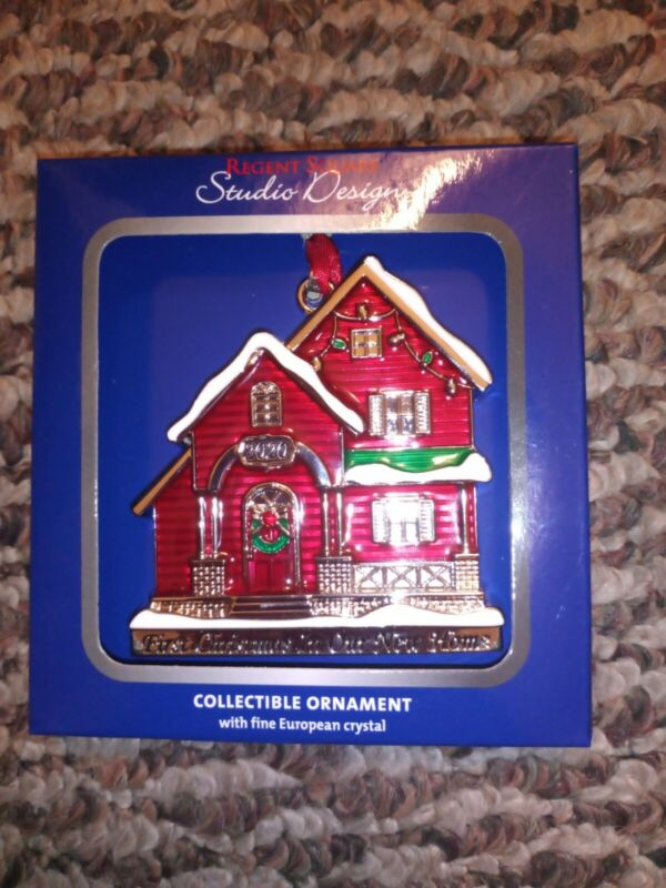 Regent Square Studio Design 2020 First Christmas In Our New Home Ornament