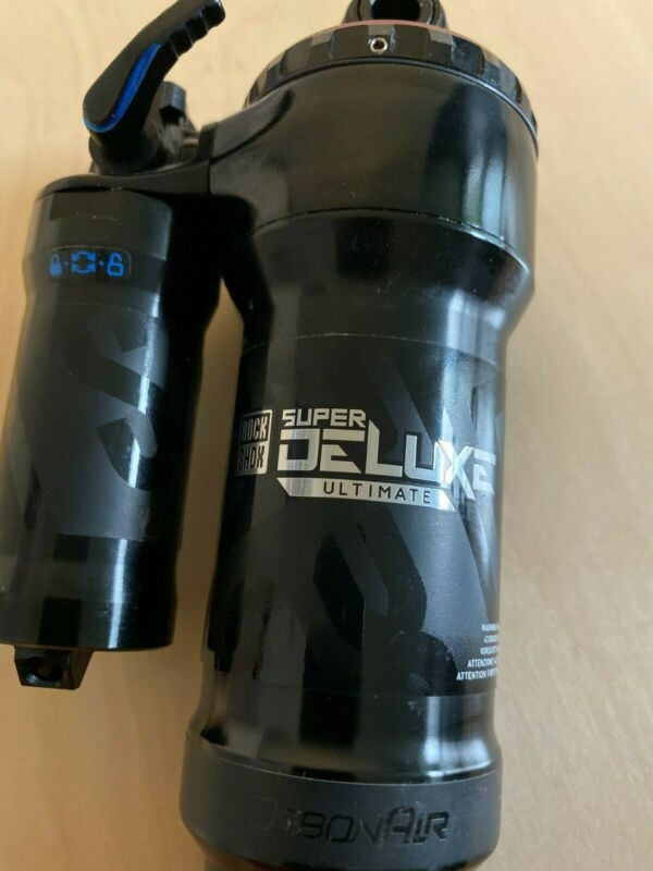 RockShox Super Deluxe Ultimate 210mm x 55mm Less than 150 miles