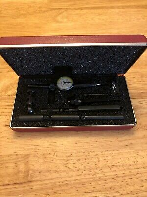 Nice Usa Made Starrett No. 711 Last Word Dial Indicator Attachments Case