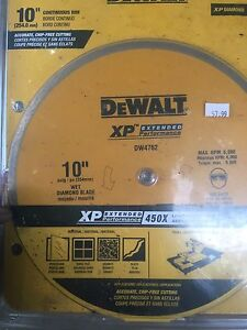 10 in tile saw blade