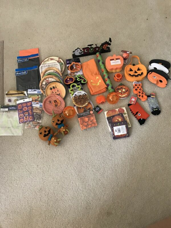 Lot of 46 Misc Halloween items - NEW