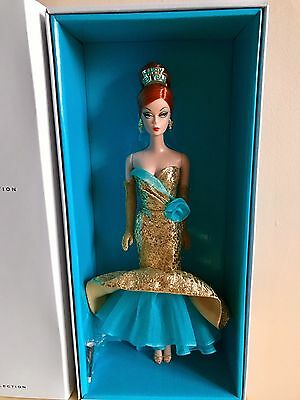 Barbie Happy New Year Mermaid Dress Hostess Collection Doll BRAND NEW 2013