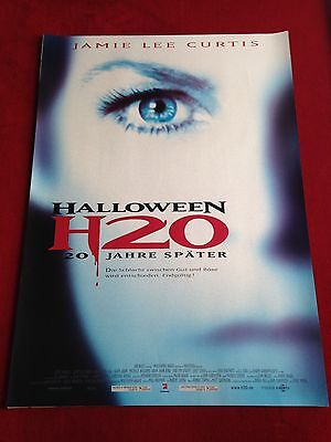hre Später Kinoplakat Poster A1  Jamie Lee Curtis (Halloween H20 Poster)