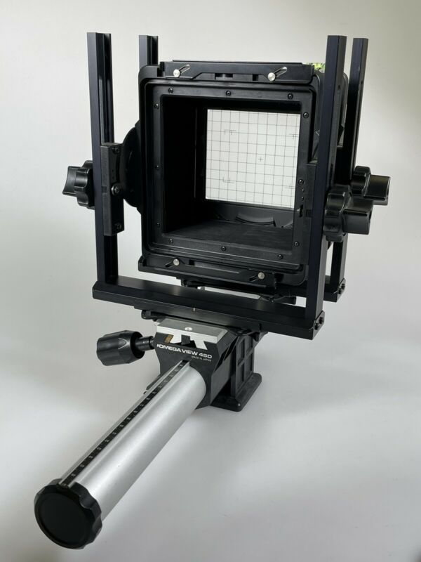 Vintage Toyo Omega-View 45D 4x5 Monorail View Camera
