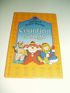 Vintage ladybird book counting songs 1988 0721411231 ebay for Songs from 1988 uk