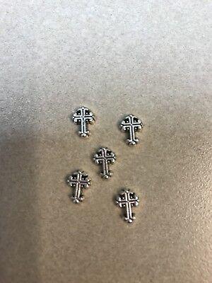 Celtic Cross Charm for Floating Glass Living Memory -