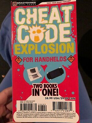 Cheat Code Explosion for Handhelds & Consoles - 2 Books in 1 -BradyGames 2010