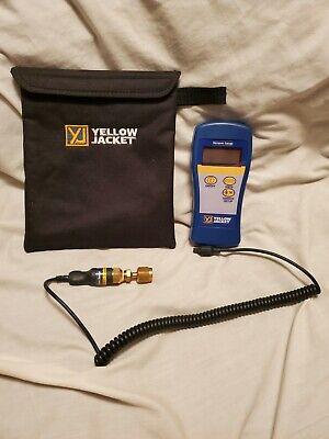 Hvac Yellow Jacket Digital Vacuum Gauge 69086 With Factory Case