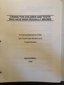 Textbook - caring for youth who have been sexually abused