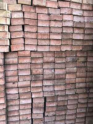 Driveway Block Paving Red Bricks 200mm x 100mm x 50mm, 500+ Available