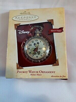 Hallmark Mickey Mouse Pocket Watch Ornament