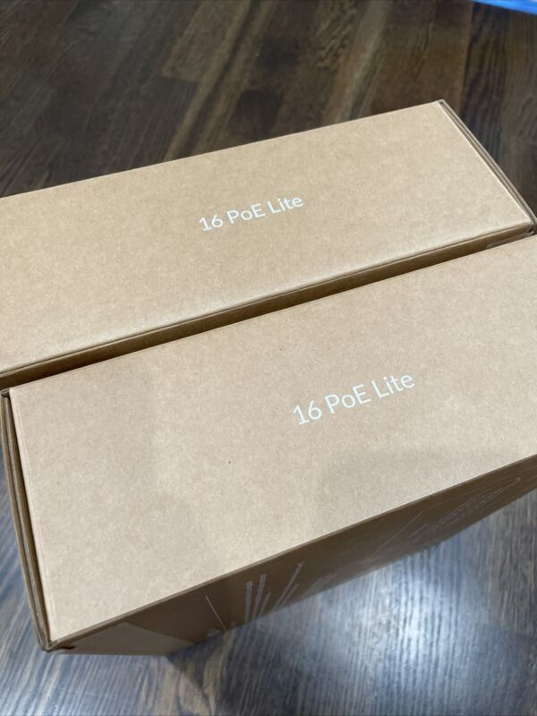 Ubiquiti UniFi Switch Lite 16 PoE USW-Lite-16-PoE - Network Switch SAME DAY SHIP