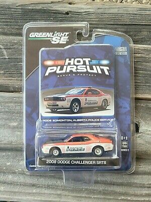 ***RARE*** Greenlight Collectibles 1:64 Hot Pursuit 2008 Dodge Challenger SRT8
