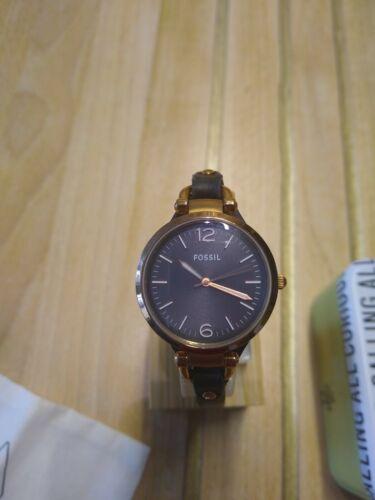 Fossil Damenuhr Uhr ES3077, Damen, elegant, Glamour, mit Box und neuer Batterie