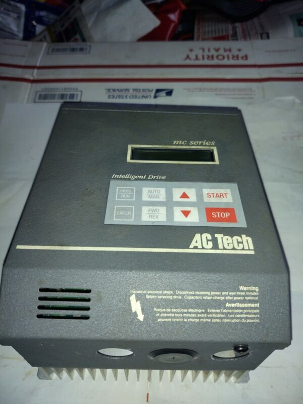AC TECH INTELLIGENT DRIVE  MODEL NO.- M1220B MC SERIES. (2 HP)(3PH)