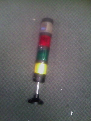 TELEMECANIQUE XVP-C3 230V CLEAR/RED/GREEN/YELLOW LIGHT TOWER