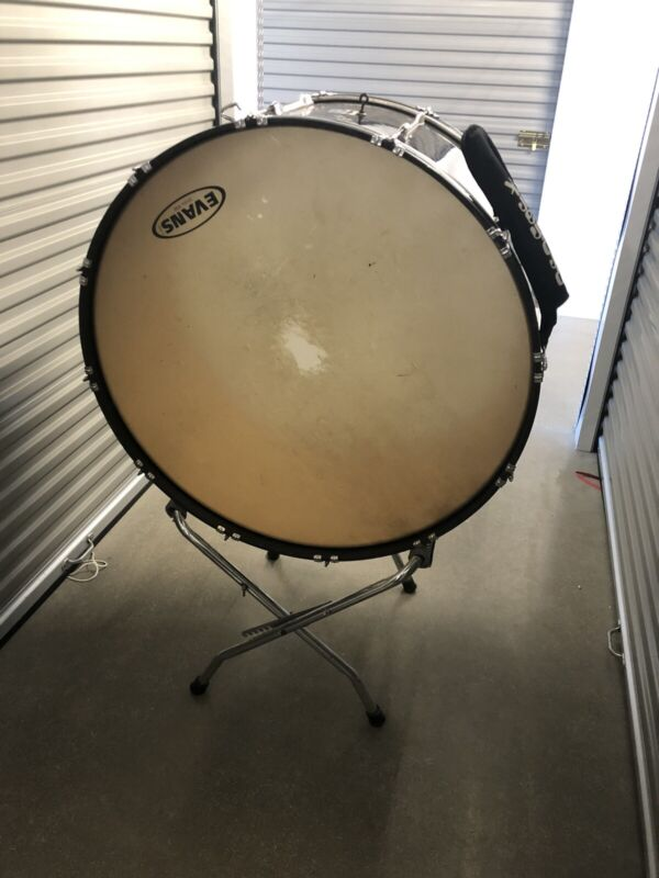 "Yamaha Concert Bass Drum 36"" With Stand"