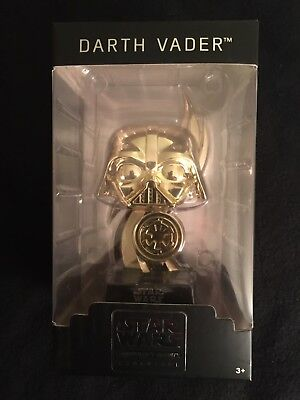 Star Wars Boss 2015 Pop Smugglers Bounty Darth Vader Gold
