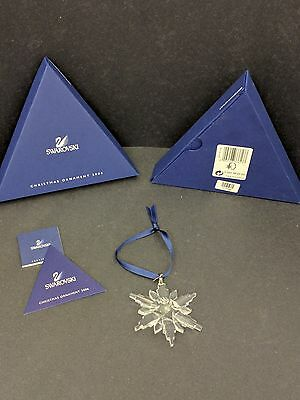 Swarovski Crystal Collectable Christmas Ornament Dated 2006 Mint