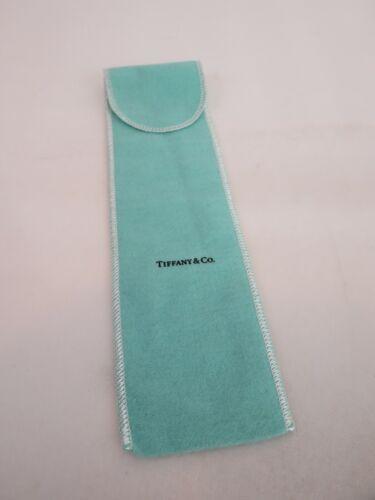 Tiffany & Co Silver Anti Tarnish SERVING PIECE Flap Pouch Bag 9 3/4 x 2 1/2
