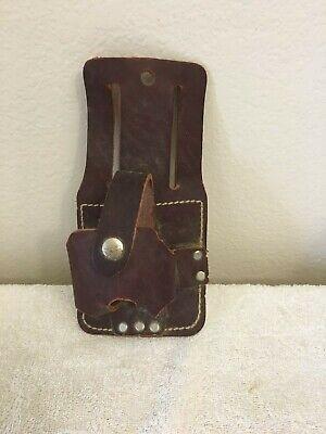 Vintage: tape measure holder for a carpenter or other building tradesperson
