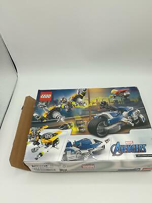 LEGO AVENGERS SPEEDER BIKE ATTACK 76142, 226 pcs