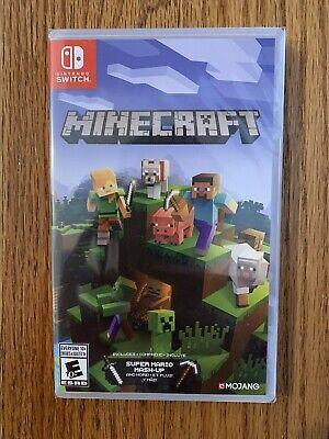 Minecraft (Nintendo Switch, 2018) Brand New Sealed Free Shipping!!!