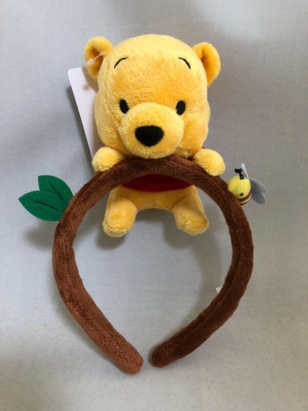 Tokyo Disney Resort Winnie the Pooh Plush Headband Ears Head Costume