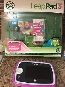 VTECH PINK LEAP PAD 3 LEARNING TABLET