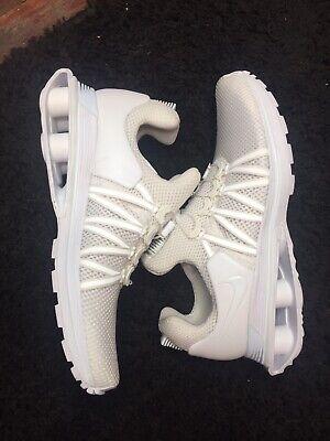 Nike Shox Gravity Women's Running Shoes Size 10, AQ8554 100 No Tie Meshed