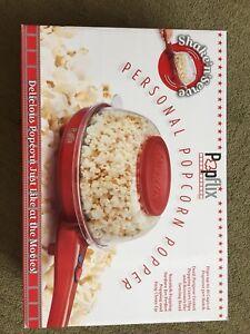 Personal popcorn popper
