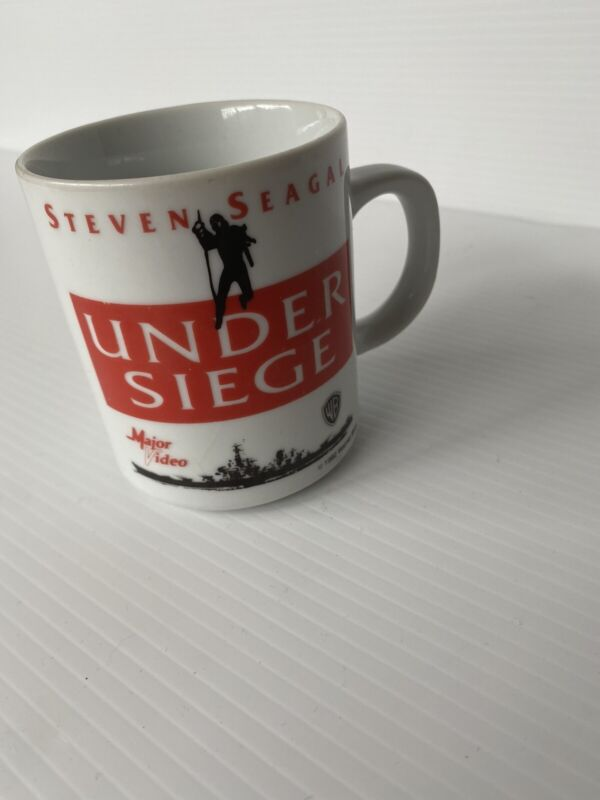 Westminster Australia Major Video Steven Seagal Under Siege Promotional Mug
