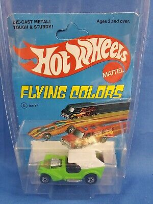 Hot Wheels Ice-T On Flying Colors Card HK Base.