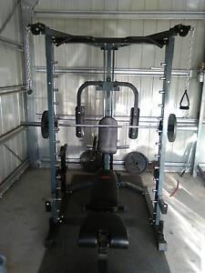 home gym smith machine Eagleby Logan Area Preview