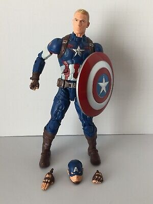 Marvel Legends Avengers Age Of Ultron Captain America Thanos BAF Wave Complete