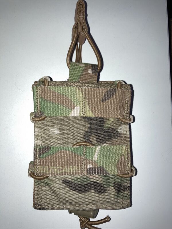 TYR Combat Adjustable Mag Pouch 5.56 or 7.62 Multicam