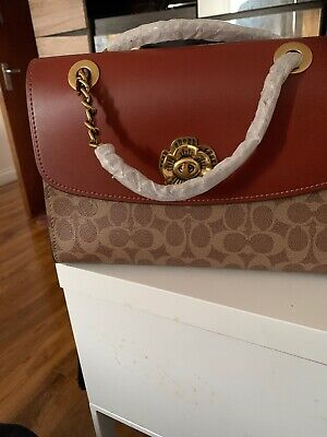 Coach Handbag With Chain Strap New With Tag And Dust bag