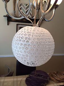 Paper lanterns (wedding decor)