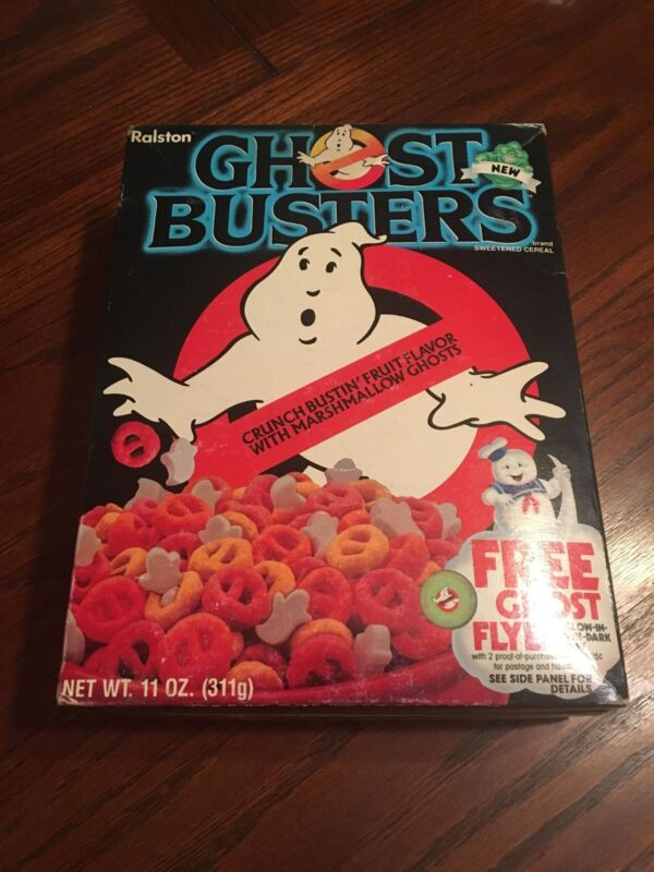 Ghostbusters Cereal (1985) Original - New/Unopened