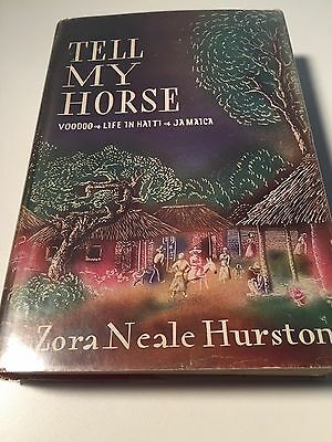 TELL MY HORSE Zora Neale Hurston 1938 HC/DJ  SCARCE  Book on Voodoo in Haiti