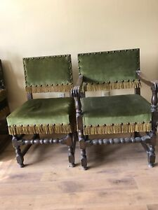8 Vintages Antique Dinning Room Chairs
