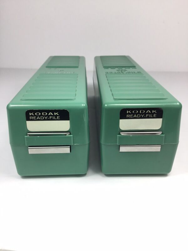 Kodak Ready File Lot of 2 Boxes w/ Dividers ~FAST~FREE~SHIPPING~