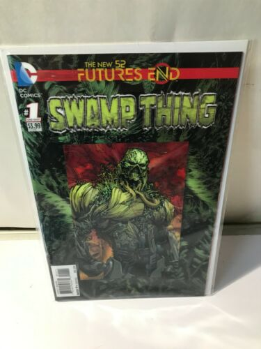 SWAMP THING    #1 One Shot 3D Lenticular Cover DC Futures End New 52