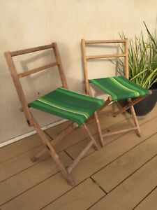 Reduced! VINTAGE/RETRO FOLDING CHAIRS