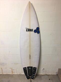 """Channel Islands Fred Rubble 5'10"""" surfboard"""