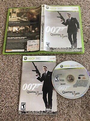 James Bond 007: Quantum of Solace (Xbox 360, 2008) - Complete