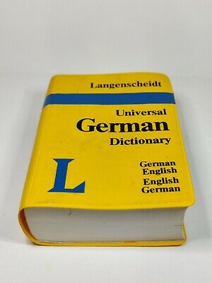 Langenscheidt Universal German English Dictionary Pocket Sized
