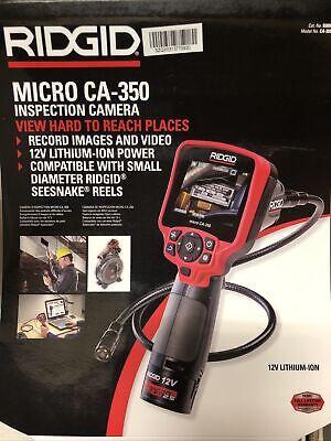 Rigid 40798 Seesnake L100 Microreel Video Inspection Camera