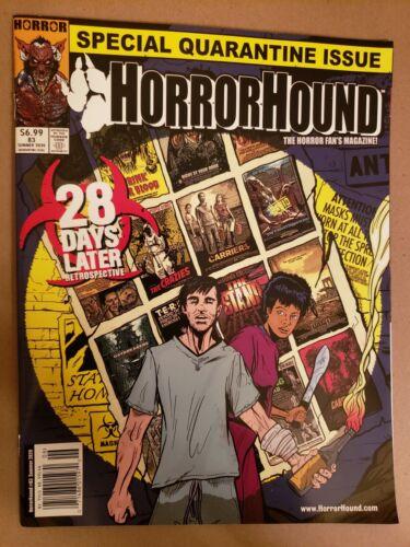 HORRORHOUND MAGAZINE #83  Special Quarantine Issue  2020